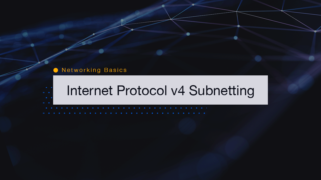 Network Subnetting Ipv4